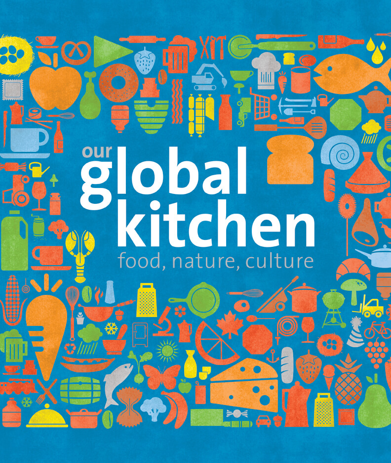 Global Kitchen Exhibit (Credit: American Museum of Natural History)