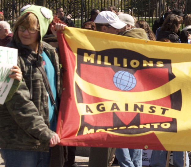 Anti-Monsanto protesters (Credit: Flickr/mar is sea Y).