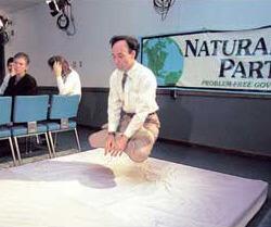 Jeffrey Smith, flying yogic instructor.