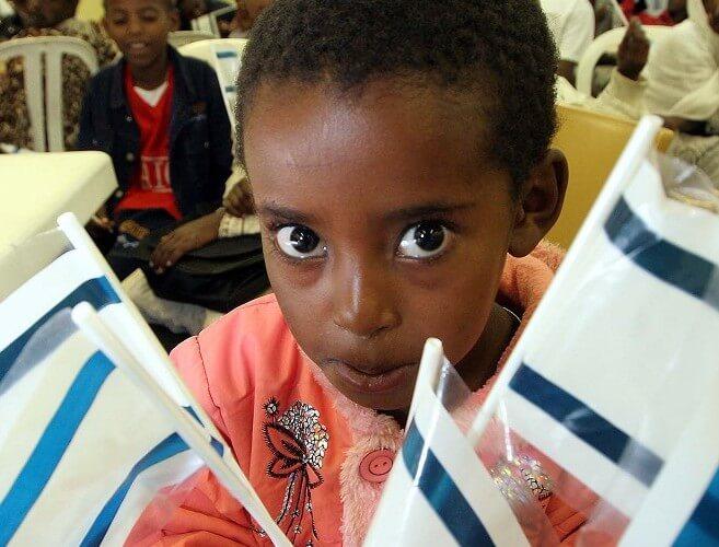 Ethiopian immigrant to Israel (CREDIT: Flickr/Jafi Israel).