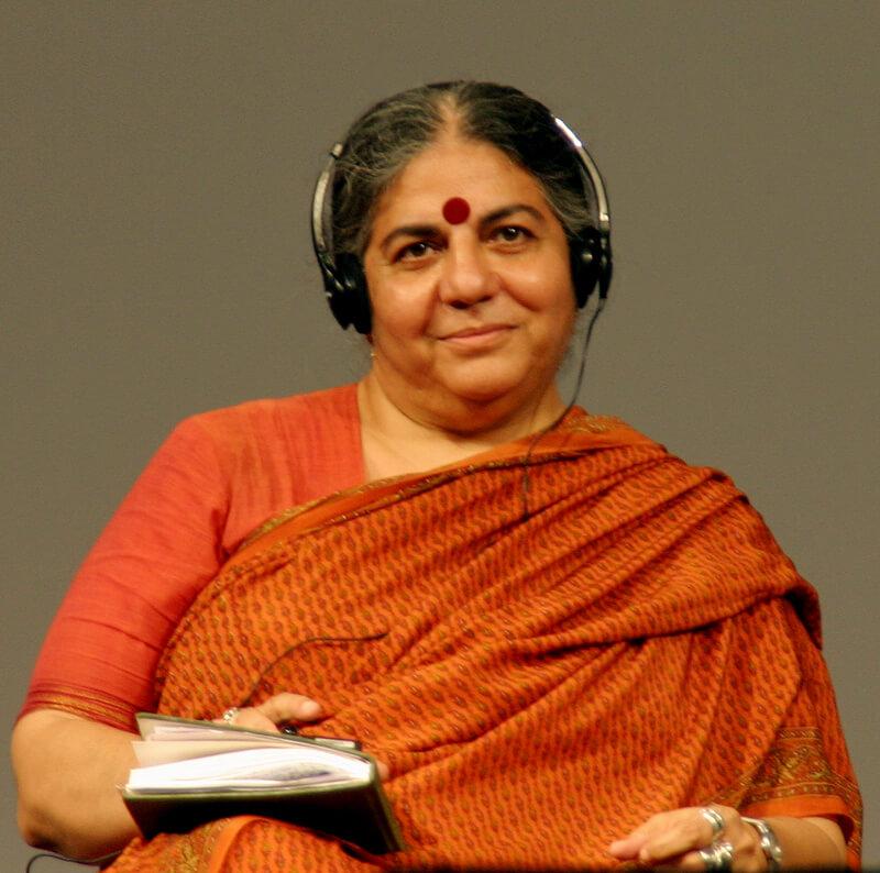 Vandana Shiva.