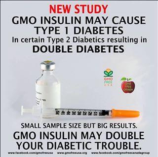 Anti-GMO propaganda targets human insulin.