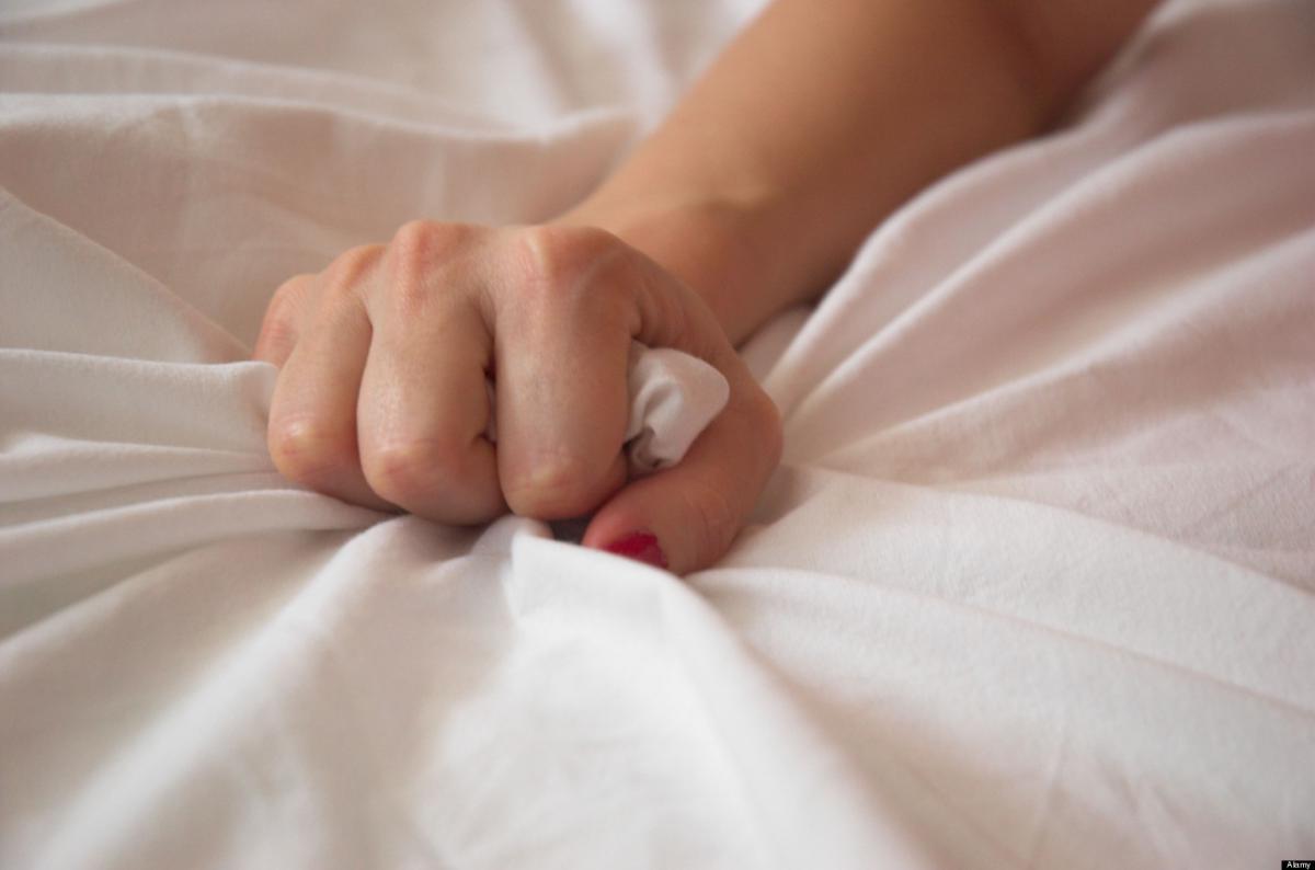 Hands on orgasm
